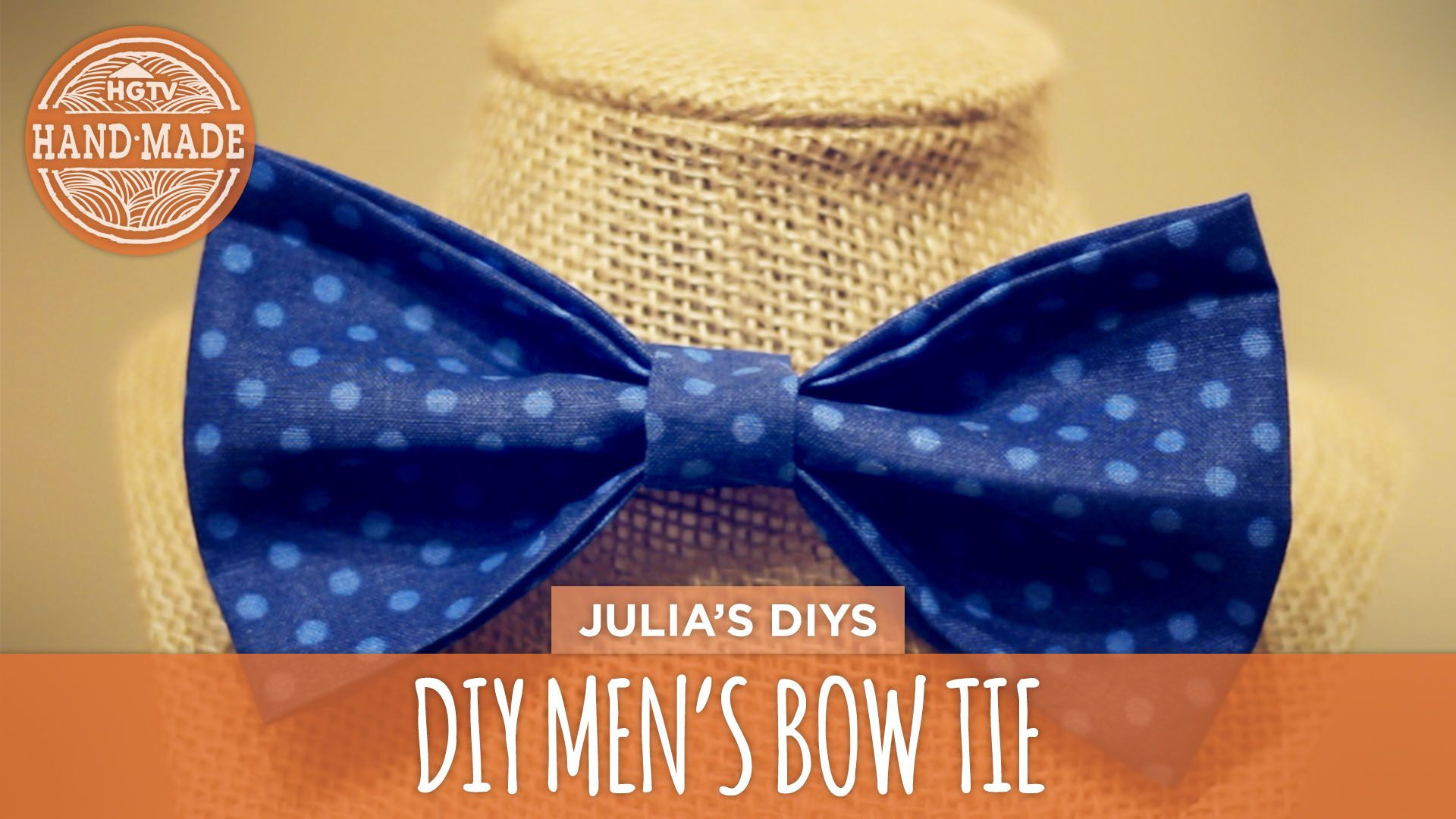 No Sew DIY Men's Bow Tie -- perfect for Father's Day! #DIY ...