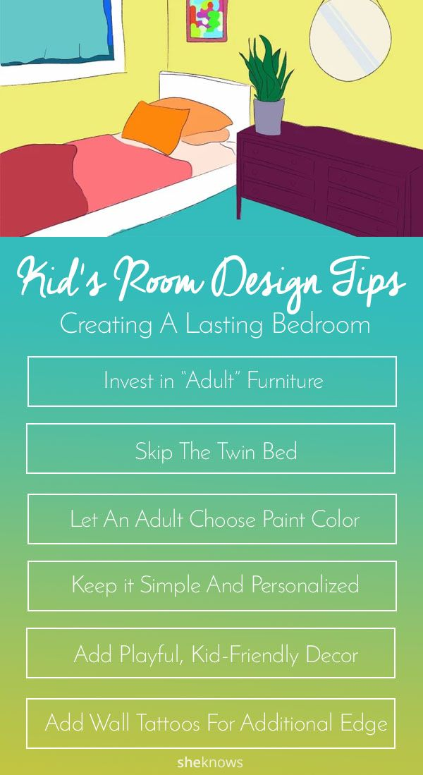 How to create a bedroom your kid won't age out of is part of Cute Kids Crafts Room Decor - Interior designers share 10 tips to avoid the constant kidroom revamp