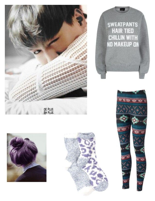 """""""Lazy day with Yugyeom"""" by ninjadevi on Polyvore featuring Private Party and Free Press"""