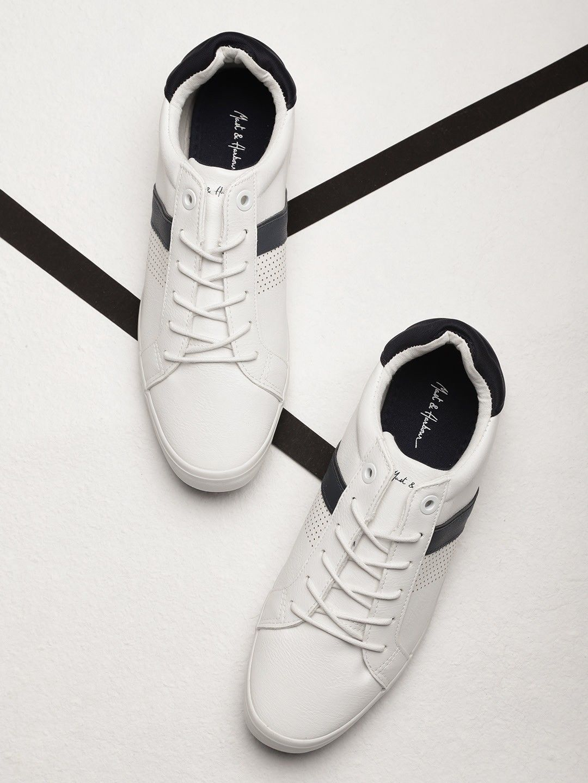 SM03 Mast \u0026 Harbour Men White Sneakers