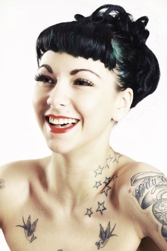 Rockabilly-hairstyles-women | hair | Pinterest