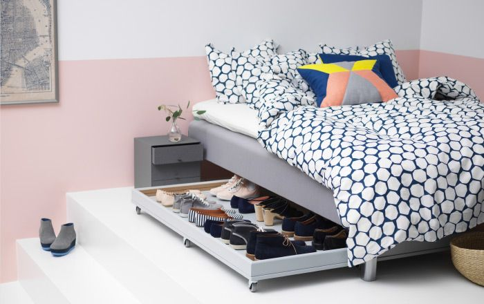 Modern Tips For The Tidiest Home Ever Small Bedroom Storage