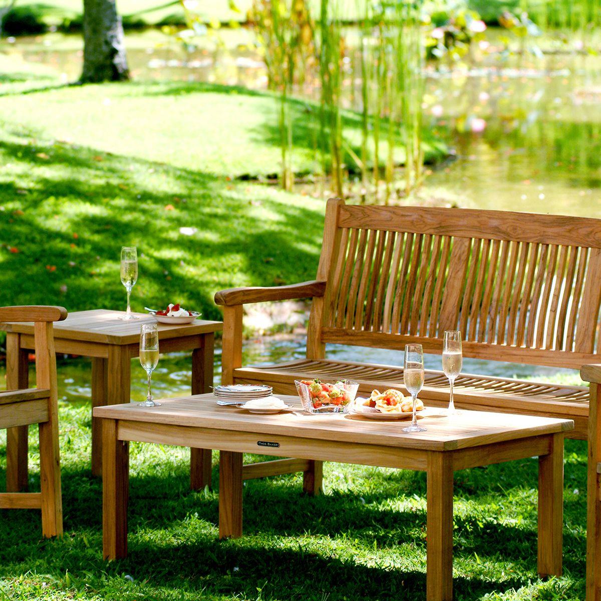 Premium Teak Outdoor Bench   5 Ft. | Kuta Teak Bench By Thos.