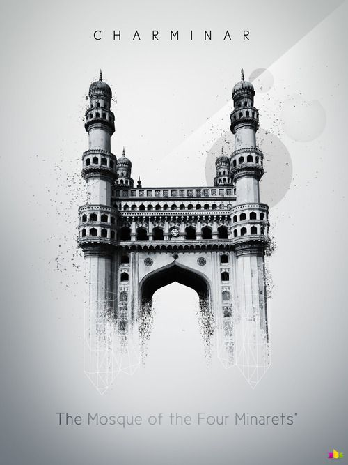 Charminar With Images Perspective Drawing Architecture