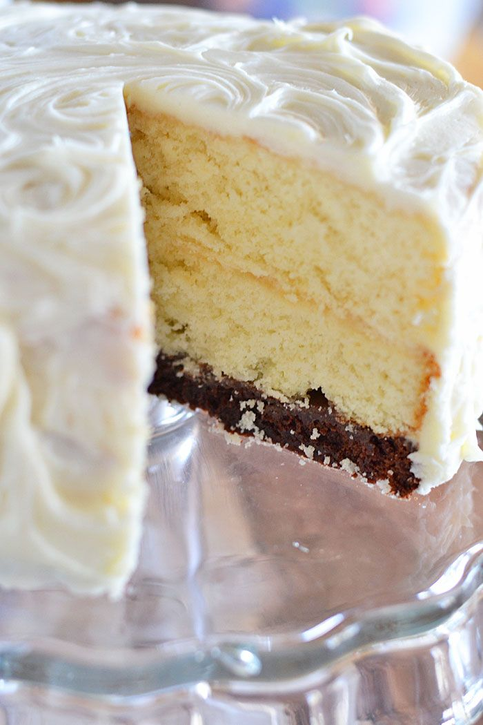 Vintage Cake Recipe White cakes Cream cheeses and Brownies