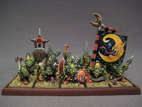 Coolminiornot Night Goblin Regiment Warhammer Art Goblin Fantasy Miniatures