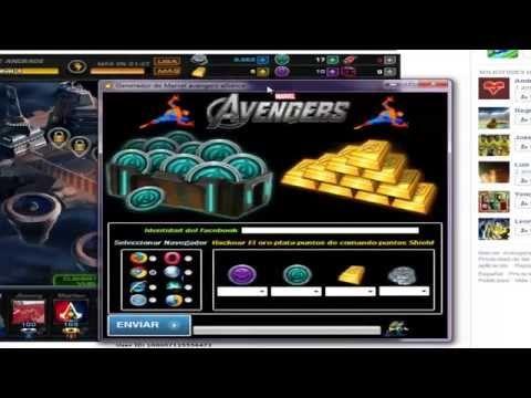 Como Hackear Marvel Avengers Alliance para Tener oro y puntos de comando - YouTube