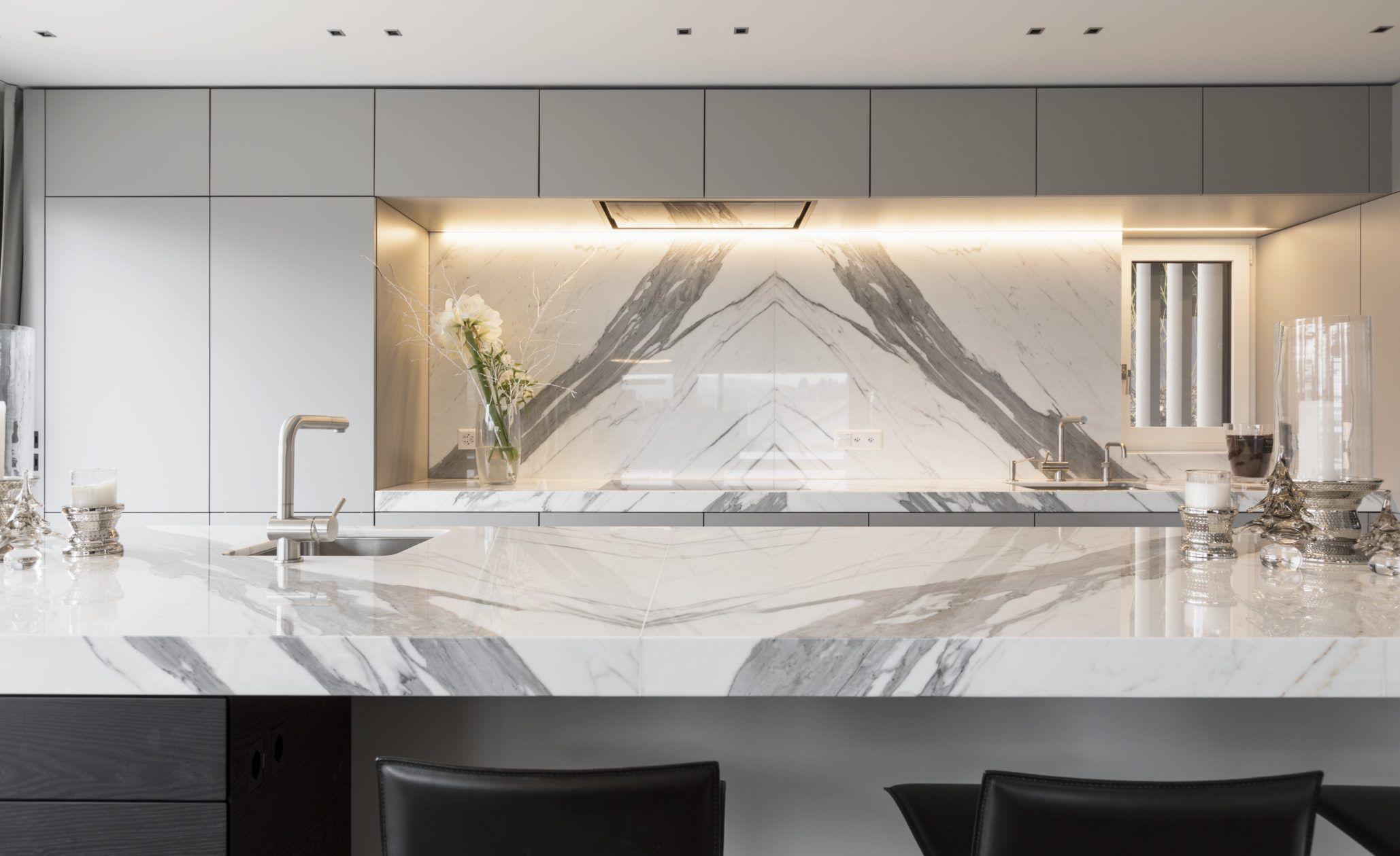 Extraordinary Luxus Küche Best Choice Of Die Arbeitsplatte Der Küche Ist Wie Die