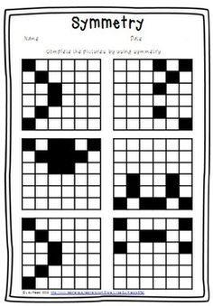 symmetry free worksheet education maths worksheets math worksheets. Black Bedroom Furniture Sets. Home Design Ideas