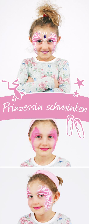 Prinzessin Schminken Anleitung Fur Fasching Oder Geburtstagsparty Familie De Prinzessin Schminken Kinder Schminken Anleitung Kinder Schminken