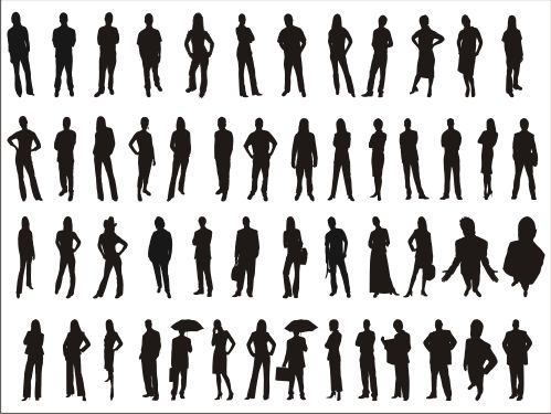 Pics For > Man And Woman Silhouette Standing | art inspirations ...