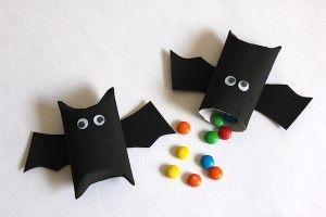 Fledermaus Gastgeschenke für die Vampir-Party! #geisterbasteln