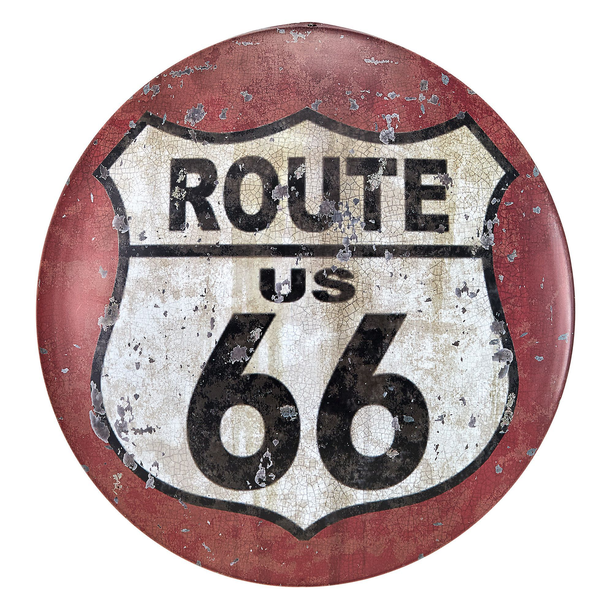 Route 66 Antique Look Tintype Wall Décor is part of Metal signs - You'll love the Route 66 Antique Look Tintype Wall Décor at Wayfair  Great Deals on all Décor & Pillows products with Free Shipping on most stuff, even the big stuff