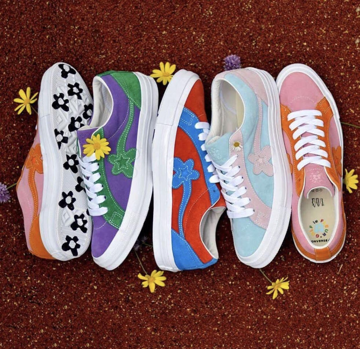 Tyler The Creator X Converse Golf Le Fleur Golf Shoes Aesthetic Shoes Golf Fashion