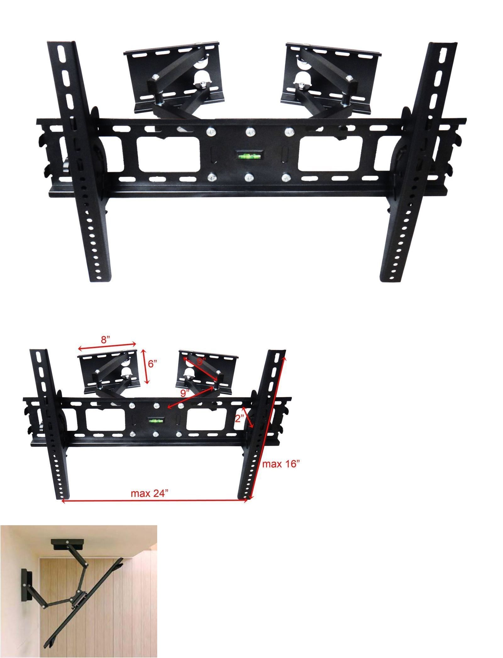 Tv Mounts And Brackets Corner Articulating Lcd Led Plasma Tv Wall  # Table Pour Tele Murale