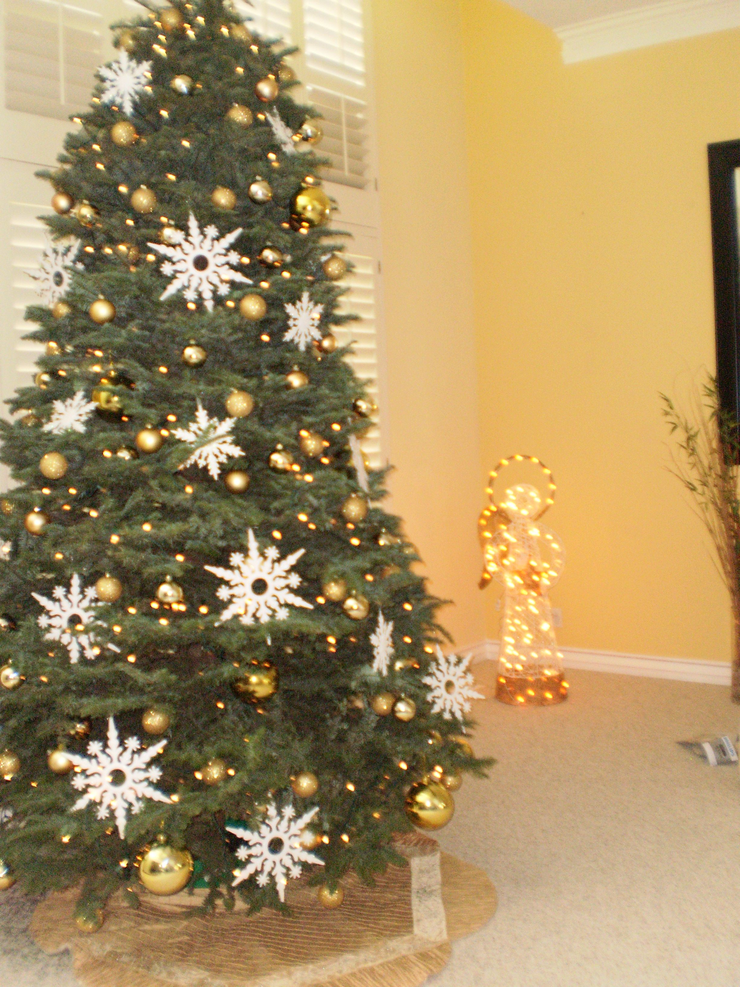 A tree I decorated for a client using Target bulbs and