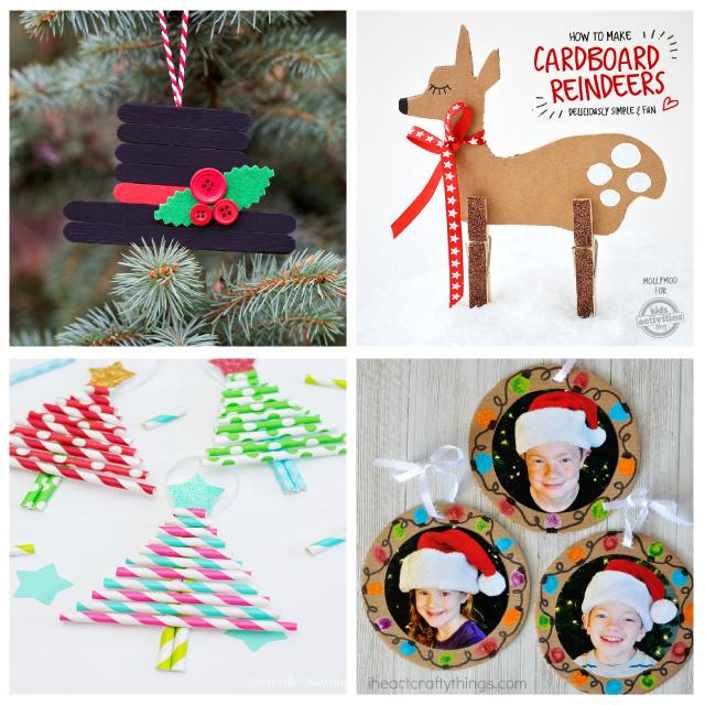 100 Manualidades de Navidad para Nios Pinterest Regalos para
