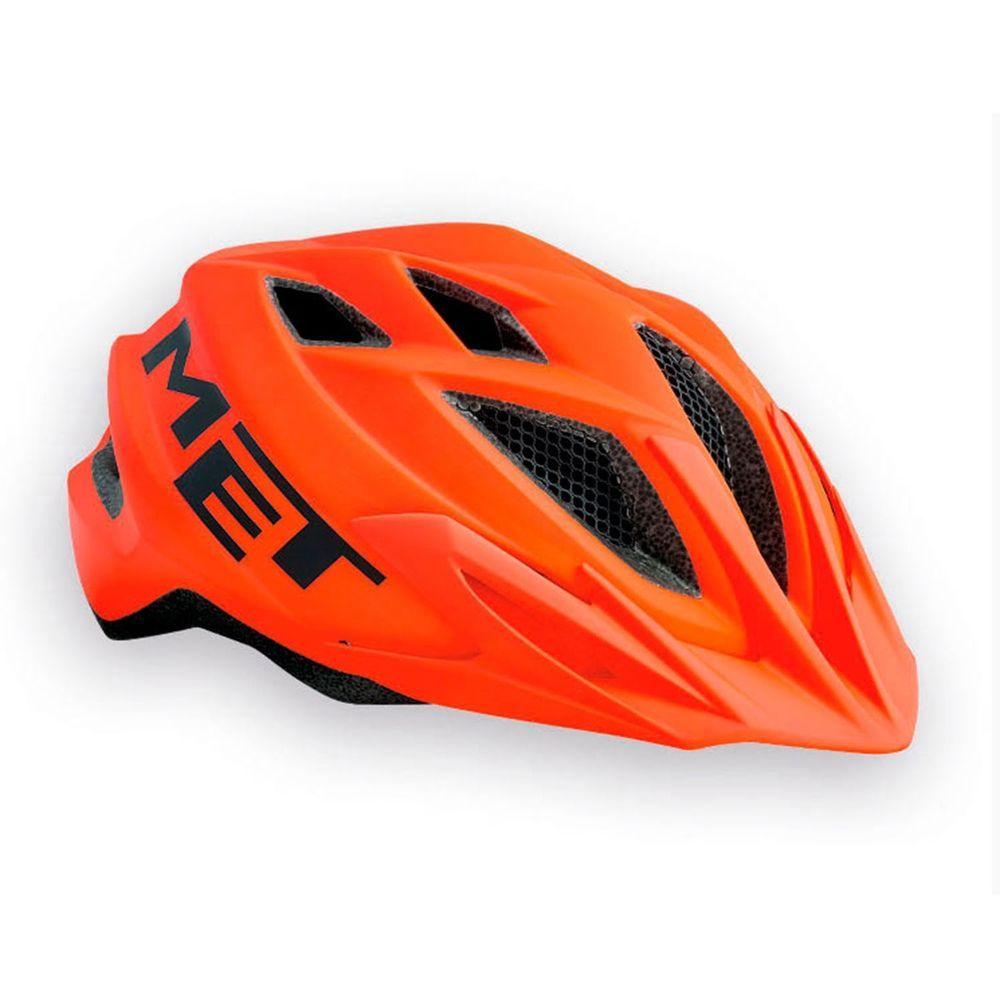 dd1a96ed6 Met Crackerjack Kids Bike Bicycle Helmet 52 - 57cm ORANGE (eBay Link ...