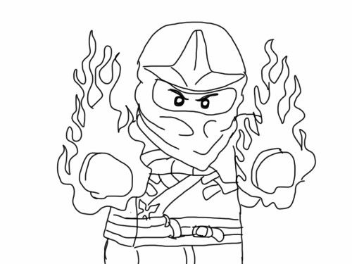 Free Printable Ninjago Coloring Pages Kidstuff Pinterest