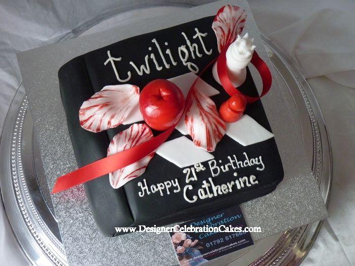 Twilight Birthday Cake Dream Birthday Cakes Pinterest Birthday