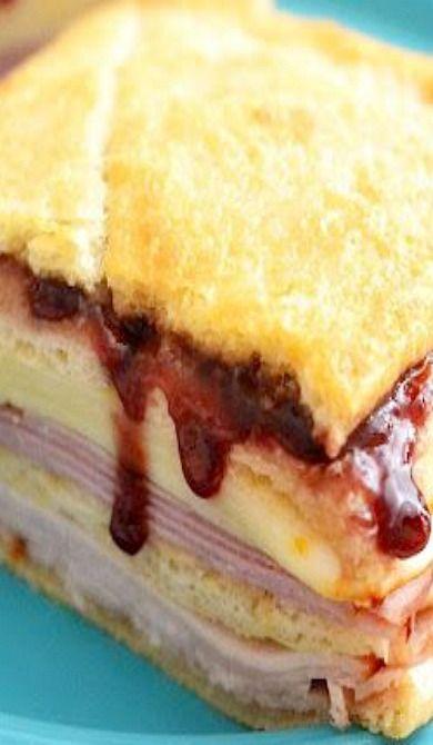 Monte Cristo Sandwiches | Recipe | Monte cristo sandwich ...