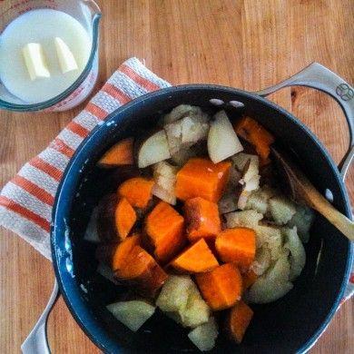 Mixed Mashed Potatoes | Mixed Mashed Potatoes