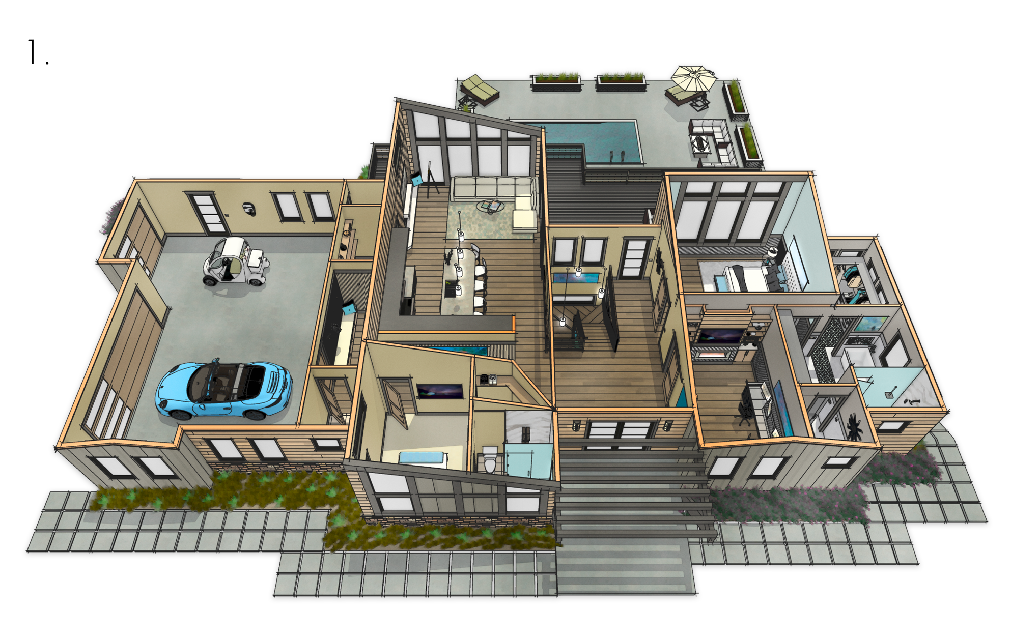 Rendering 3d Home Design Chief Architect 3d Home Design Software