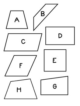FREE Hands-On Activities for Classifying Quadrilaterals