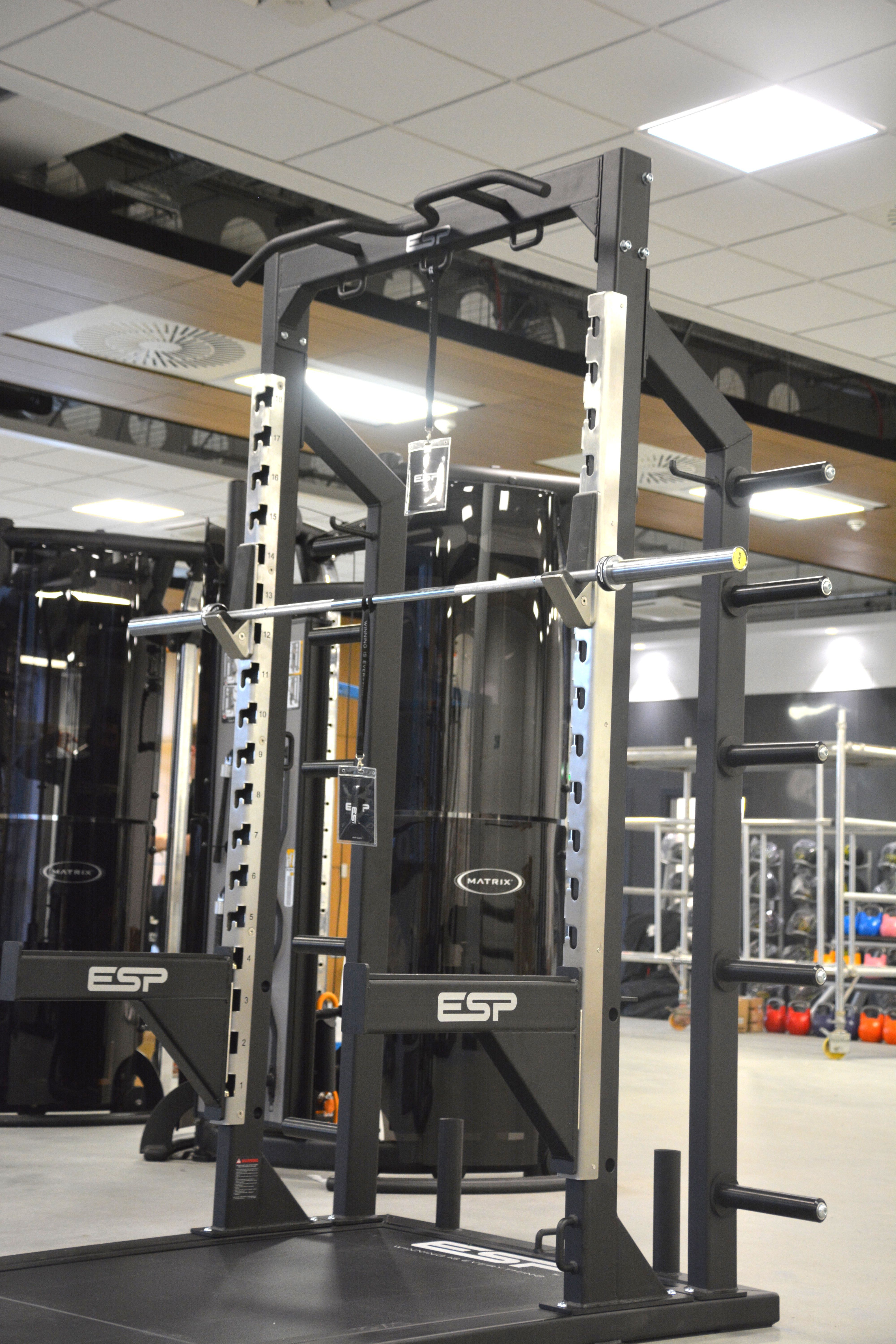 Garage Gym Half Rack University Of Glasgow Big Girl Toys No Equipment Workout