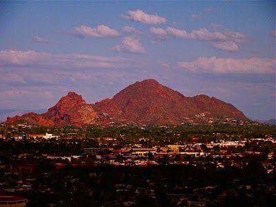 Scottsdale, Arizona... Camelback Mountain