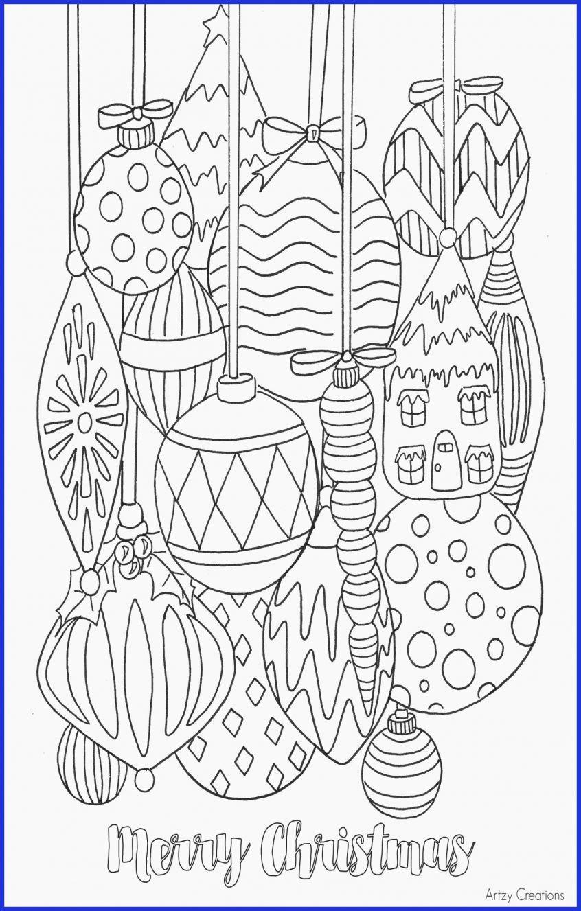 Pin On Printable Christmas Coloring Page