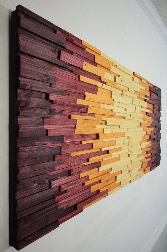 Wood Wall Art Aztechie Wooden Wall Art Home Decor Rustic Wooden Art Wood Art Modern Wood Art Wood Wall Hanging Contemporary Wooden Wall Decor Diy Wall Art Wood Wall Hanging