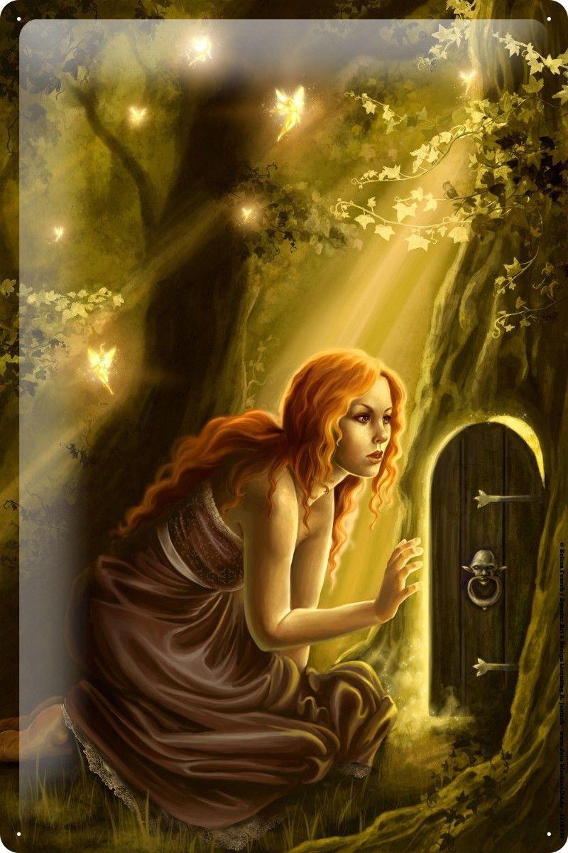 aud tin sign selina fenech fairies fantasy art goddess