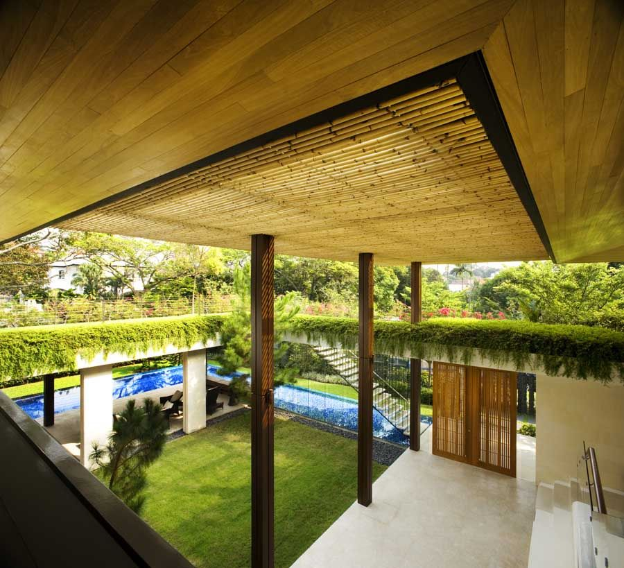 The Sun House By Guz Architects A Hevean Of Green In: Architectures & Interior Designs