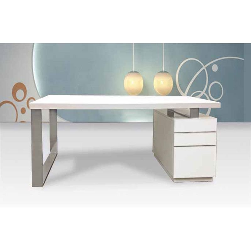 Modern Desks Swindon Desk White Lacquer Desk Simple White Desk Furniture