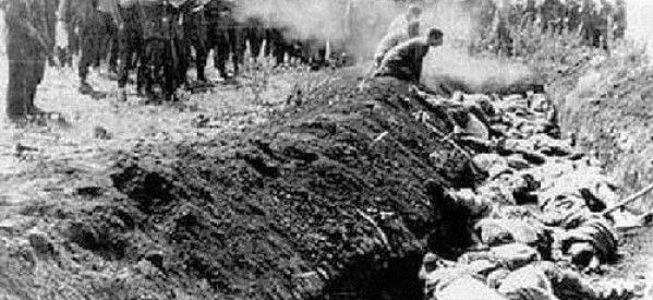 Image result for the holocaust, Babi Yar Ravine