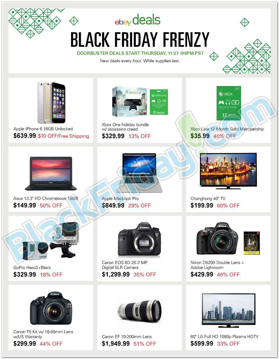 Ebay Black Friday Cyber Monday Thanksgiving Frenzy Ad 2014 Shop And Ship With Borderlinx