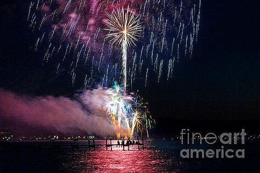 Karen Jorstad - Sitting on the Dock of the Bay Fireworks Pinterest