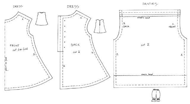 dress pattern #002