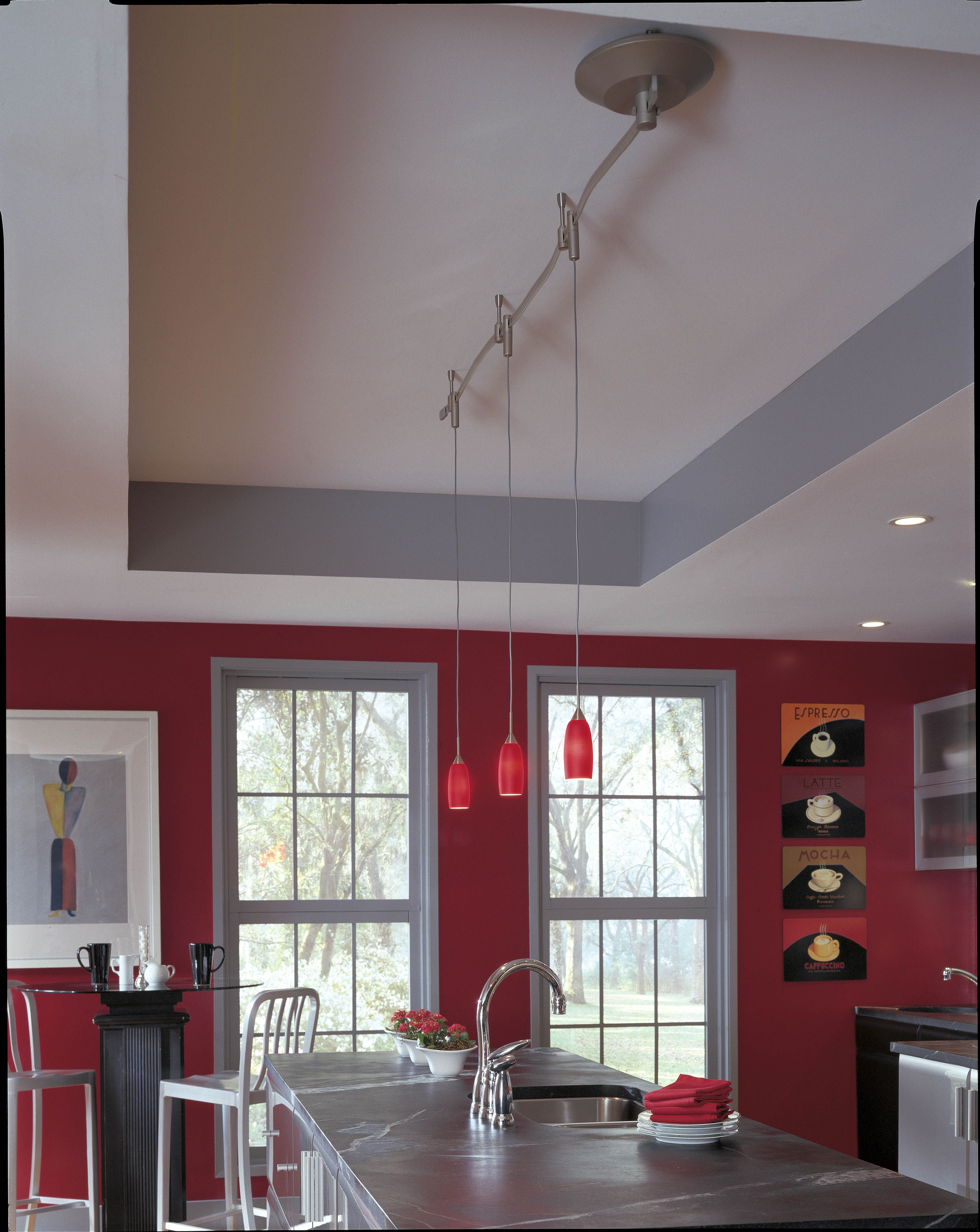 This is what I need for my off center light in the kitchen   different  lights   Track LightingLighting IdeasProgress LightingDiy  This is what I need for my off center light in the kitchen  . Diy Kitchen Track Lighting. Home Design Ideas