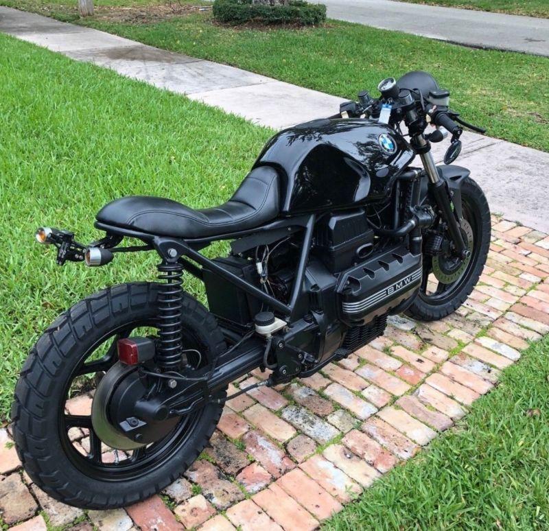 Stunning 1985 Bmw K 100 Series Cafe Racer Motorcycle 1800 Miles Caferacerforsale Caferacer Cafe Racer Moto Cafe Racer Motorcycle Cafe Racer Bikes