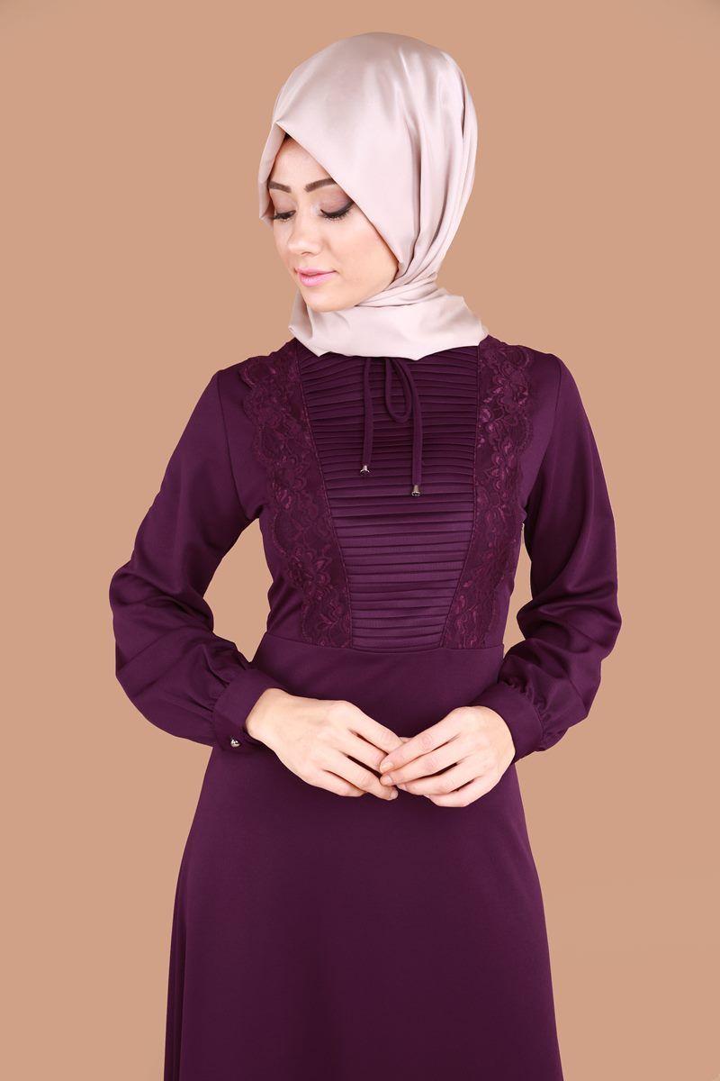 6fd195778821d Tesettür elbise modelleri ve tesettür elbise fiyatları en uyguna kapıda  ödeme seçeneği ile Modaselvim'de