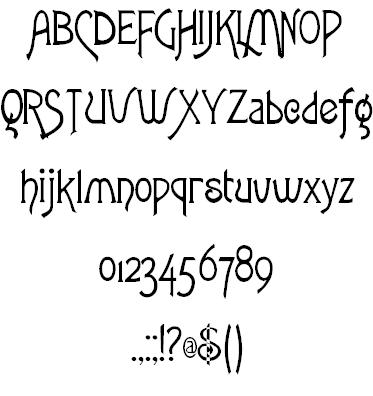 Fletcher-Gothic Font | Fontastic | Gothic fonts, Fonts, Font art