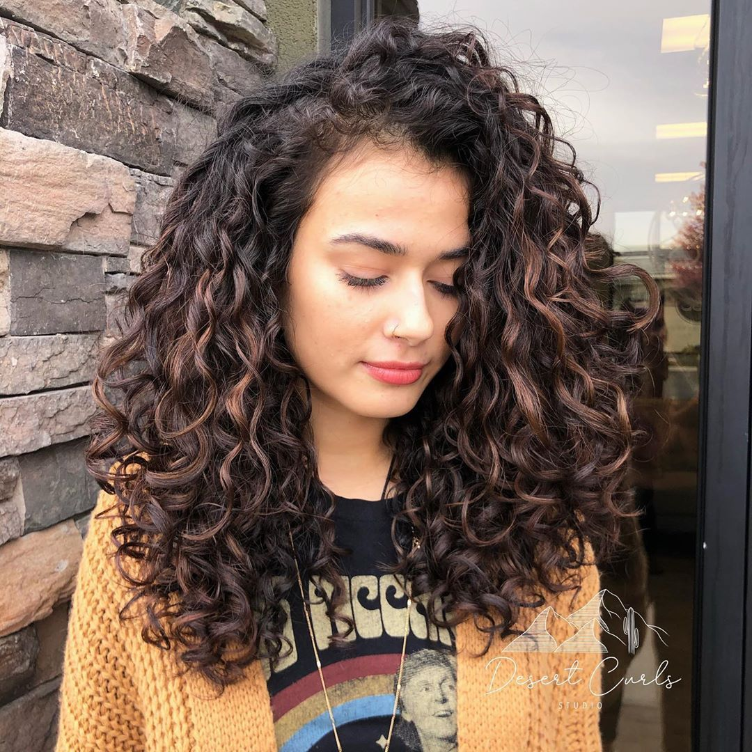 Reno Sparks Naturally Curly On Instagram We Created A Ton More Shape And Painted Some Curls F Curly Hair Inspiration Curly Hair Styles Curly Hair Styles Easy