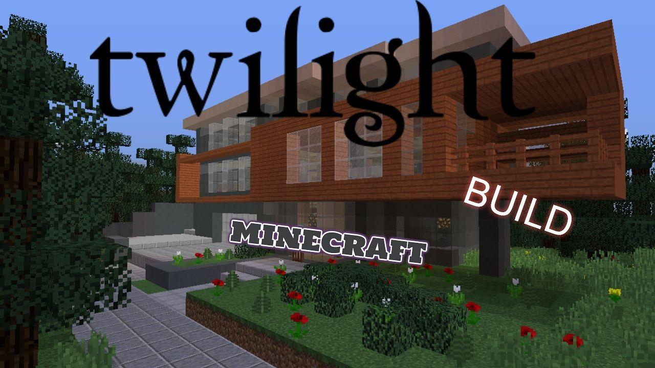 Adamh Tutorial Minecraft Cullen House Twilight Youtube Cullen House Twilight Minecraft Minecraft House Designs