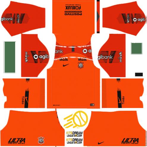 Kit Corinthians Dream League Soccer Kits 2018 2019