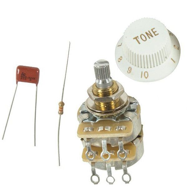 Genuine Fender Tbx Tone Control Potentiometer Kit 099 2052 000