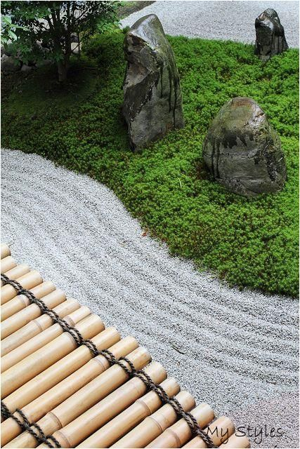 Bamboo Sand Moss Stone #kitchen #garden