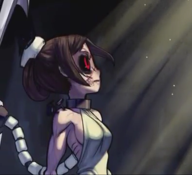 Unmasked Painwheel Carol Skullgirls Skullgirls Anime Carole