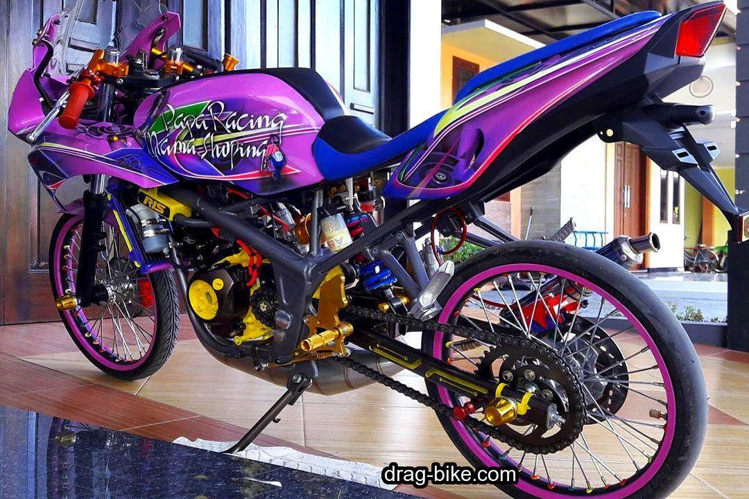 Gambar Motor Ninja Rr Modifikasi Dengan Gambar Gambar